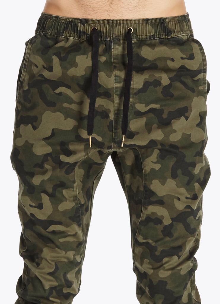 ZANEROBE SURESHOT JOGGER PANT IN CAMOUFLAGE  - 4