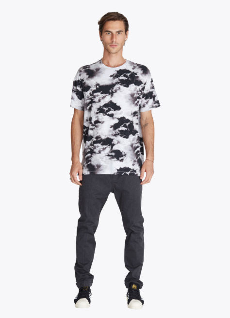 ZANEROBE RUGGER T-SHIRT IN CLOUDS PRINT  - 5