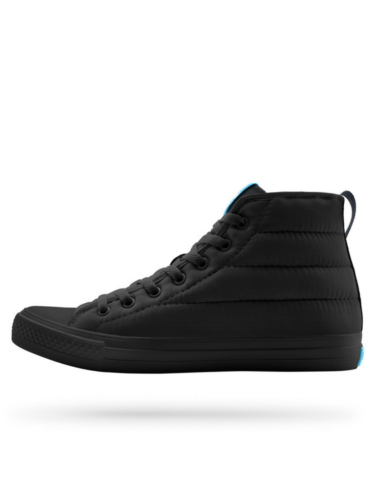People Footwear Phillips Puffy Sneakers in Really Black
