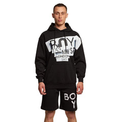 BOY LONDON MICRO HOODIE IN BLACK