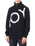 BOY LONDON ZIP TRACK TOP IN BLACK  - 3