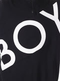 BOY LONDON ZIP TRACK TOP IN BLACK  - 5