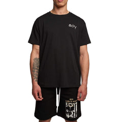 BOY LONDON EPOCH T-SHIRT IN BLACK
