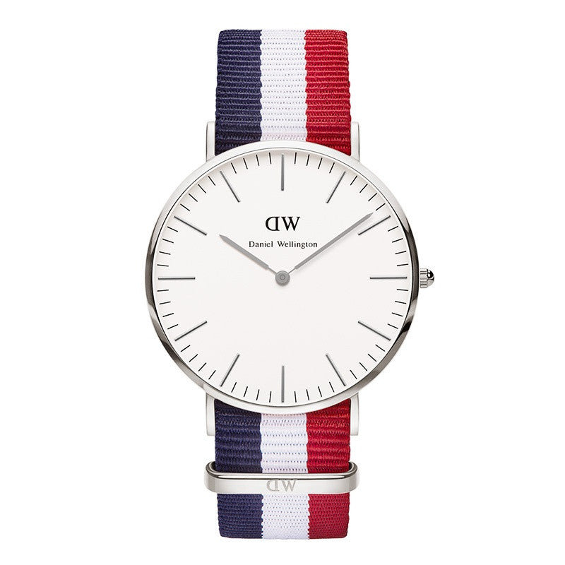 DANIEL WELLINGTON CLASSIC CAMBRIDGE WATCH WITH SILVER  - 1