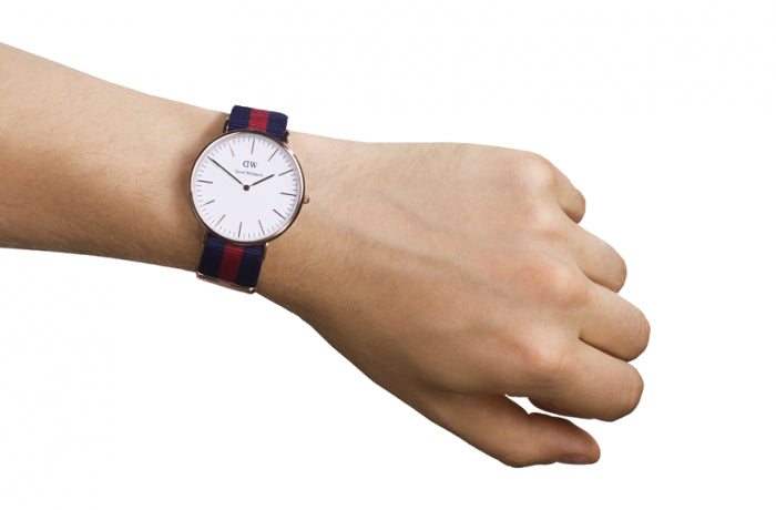 DANIEL WELLINGTON CLASSIC OXFORD WATCH WITH ROSE GOLD  - 2