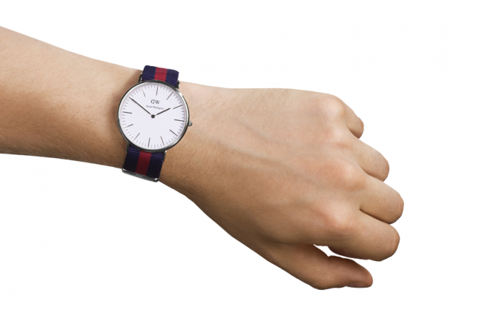 DANIEL WELLINGTON CLASSIC OXFORD WATCH WITH SILVER  - 2
