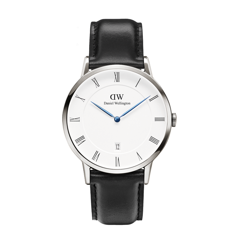 Daniel Wellington Dapper Sheffield Watch With Silver Case