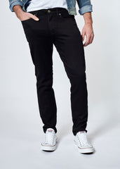 DUER N2X SLIM FIT NO SWEAT PANT IN BLACK  - 2