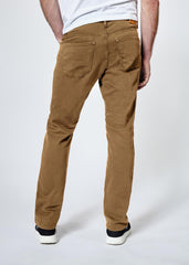 DUER N2X SLIM FIT NO SWEAT PANT IN TOBACCO  - 1