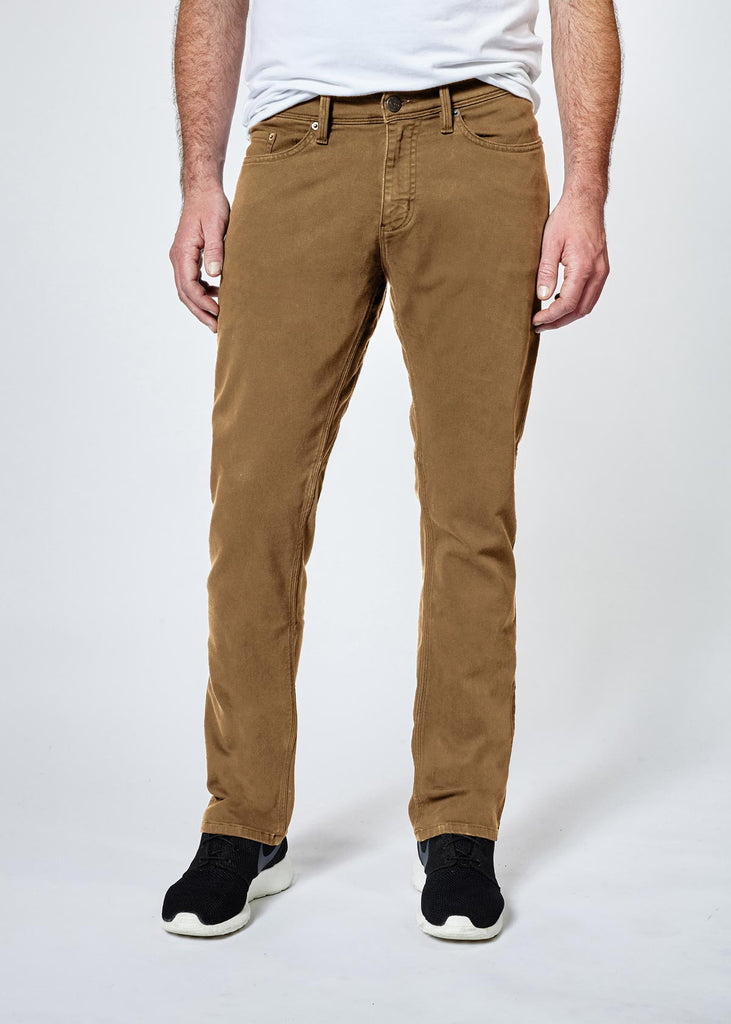 DUER N2X SLIM FIT NO SWEAT PANT IN TOBACCO  - 2