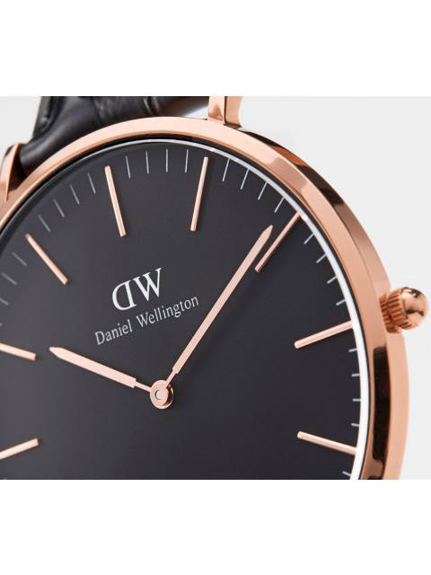 Daniel Wellington Classic Cornwall Watch in Rose Gold