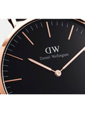 Daniel Wellington Classic Cornwall Watch With Rose Gold Case