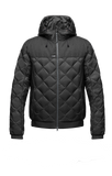 best styles of jackets and urban style outerwear nobis elroy quilted hoooded jacket in black