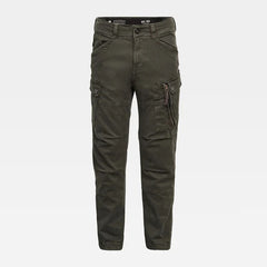G-STAR ROXIC STRAIGHT TAPERED CARGO PANTS IN ASFALT