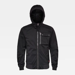 G-STAR UTILITY HOODED SOFTSHELL JACKET