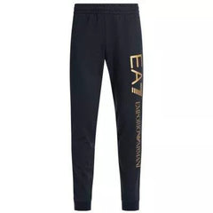 EA7 LOGO TRACK PANTS IN BLACK/COPPER