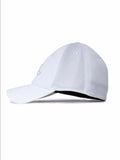 find out what is a snapback learn about  headwear and the different types of hats at boysco J Lindeberg Bon Flexi Cap in White Side