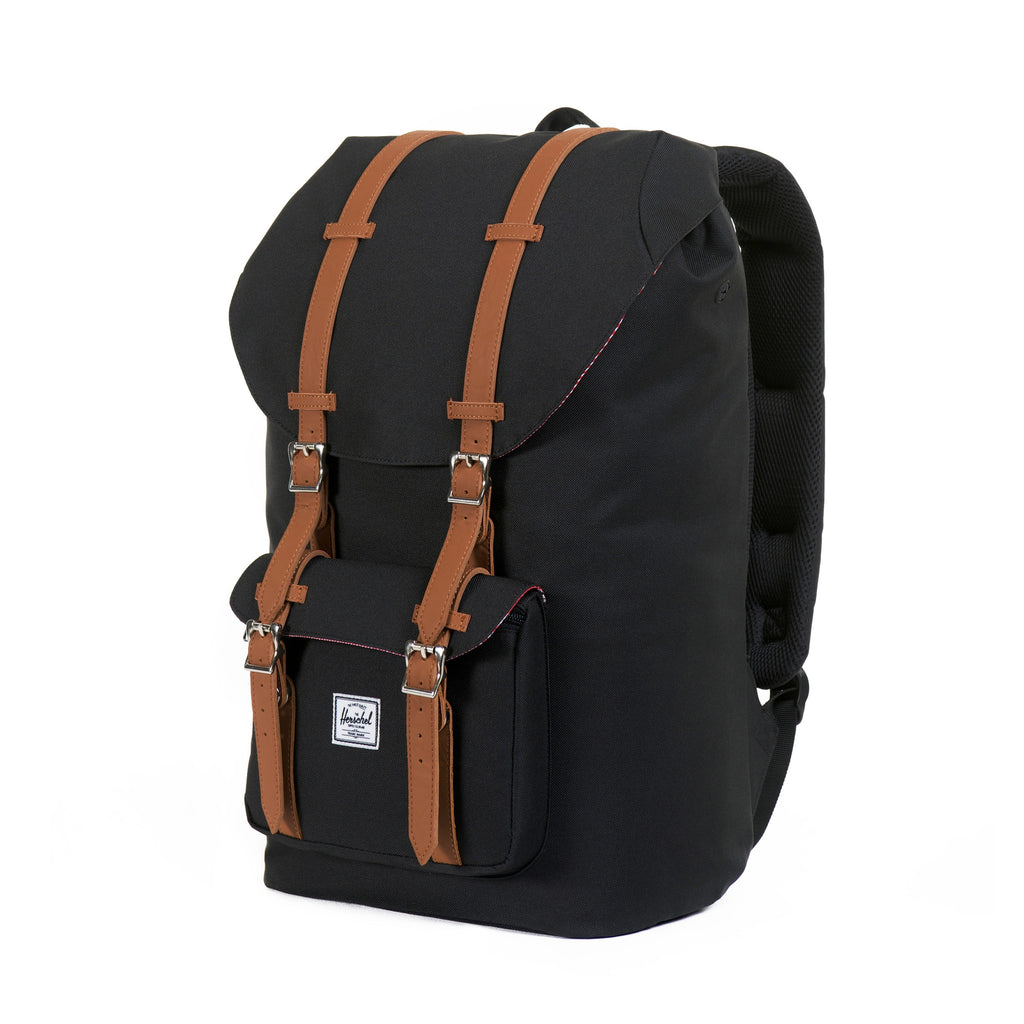 HERSCHEL LITTLE AMERICA BACKPACK IN BLACK  - 2