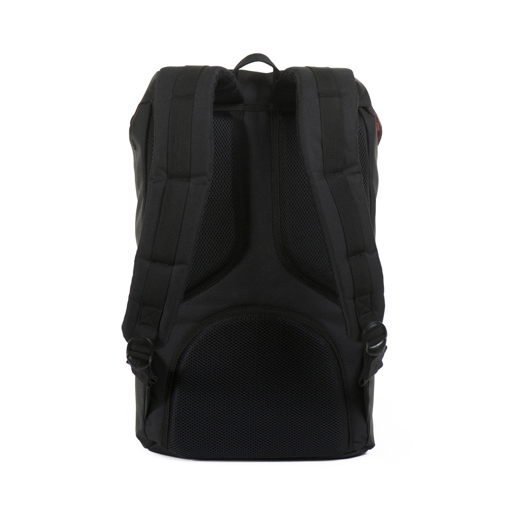 HERSCHEL LITTLE AMERICA BACKPACK IN BLACK  - 3