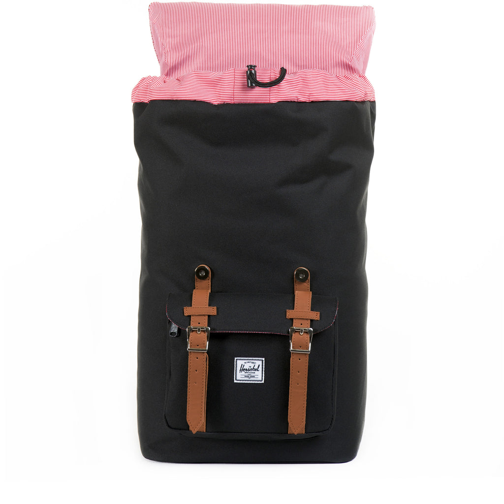 HERSCHEL LITTLE AMERICA BACKPACK IN BLACK  - 4