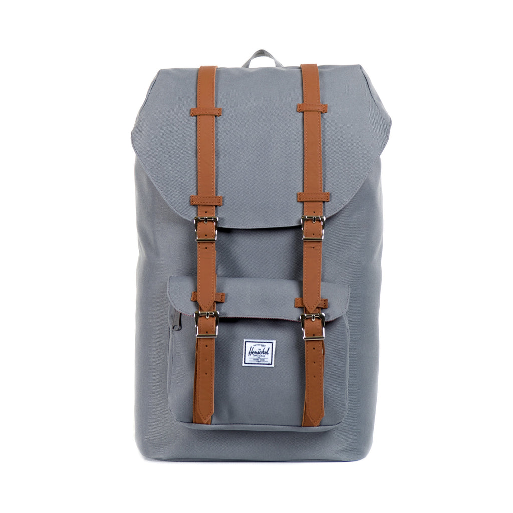 HERSCHEL LITTLE AMERICA BACKPACK IN GREY  - 1