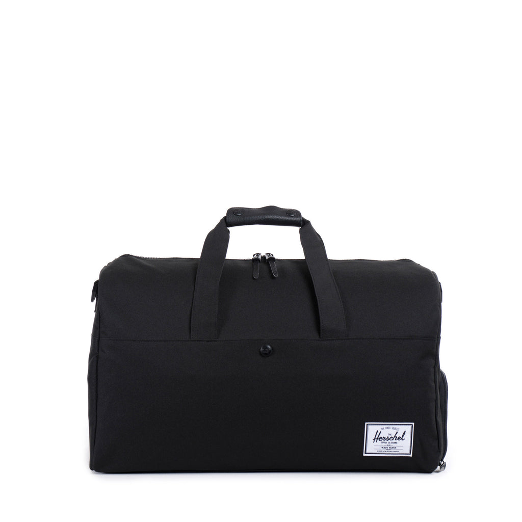 HERSCHEL LONSDALE DUFFLE BAG IN BLACK