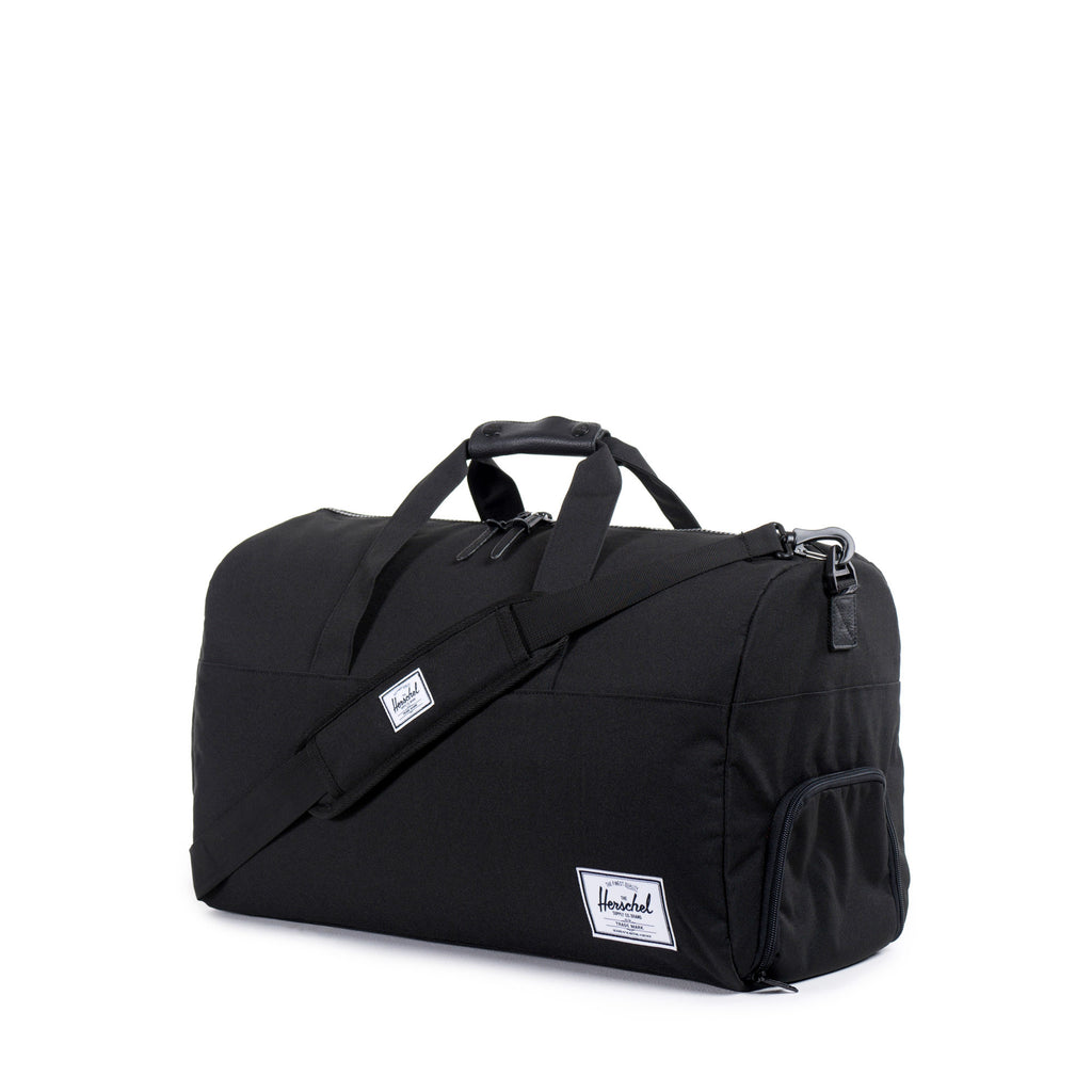 HERSCHEL LONSDALE DUFFLE BAG IN BLACK  - 2
