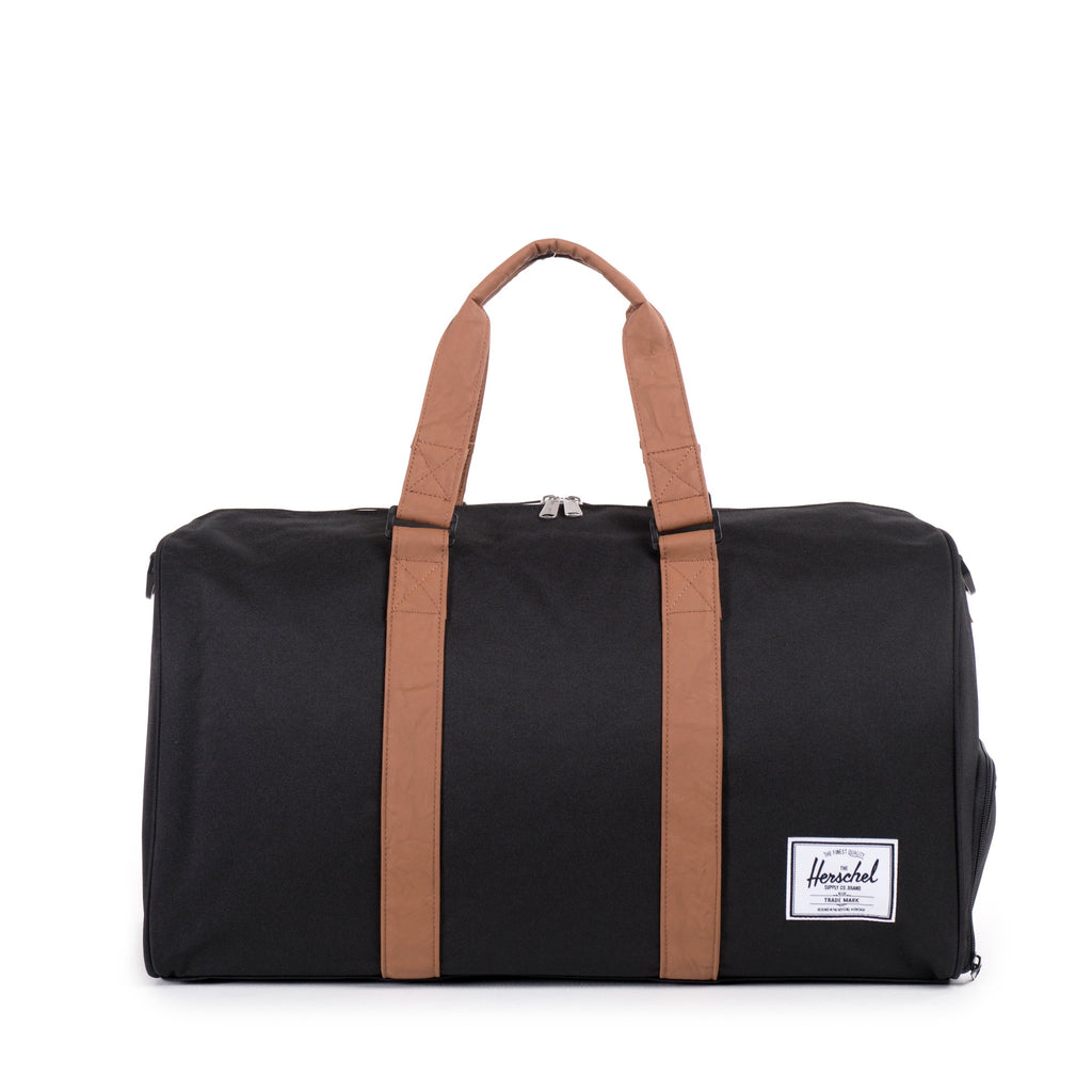 HERSCHEL NOVEL DUFFLE BAG IN BLACK  - 1