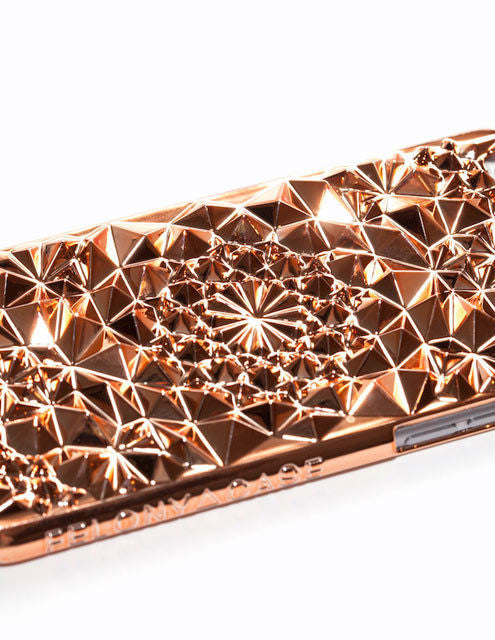 how to get noticed with the best iphone cases felony kaleidoscope xp case for iphone 7 in rose gold details