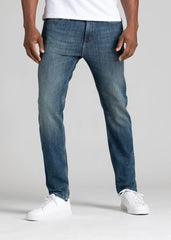 DUER L2X PERFORMANCE STRETCH SLIM JEANS IN GALACTIC