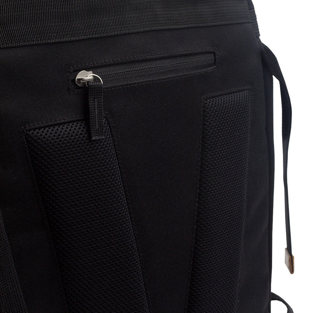 VENQUE ALPINE RUCKSACK IN BLACK WITH BROWN LEATHER  - 6