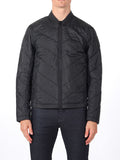 J Lindeberg Travon 66 Print Quilted Jacket in Black Melange  - 4