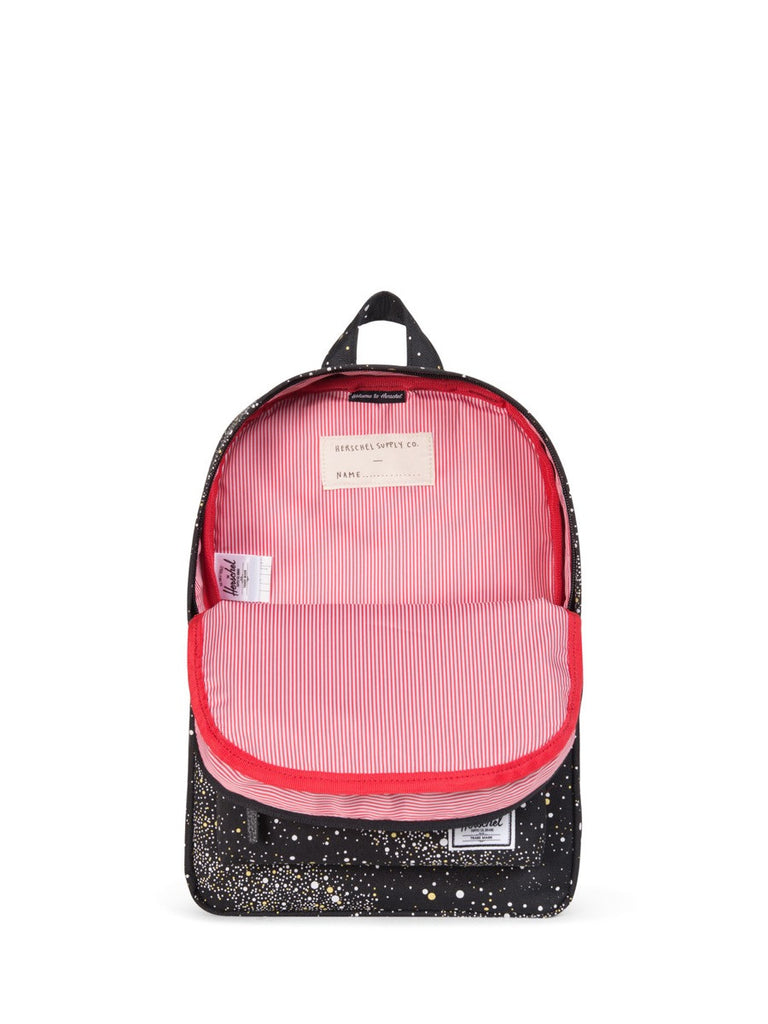 join the boys'co a-list for a herschel discount code - herschel supply co kids heritage backpack in milky way open