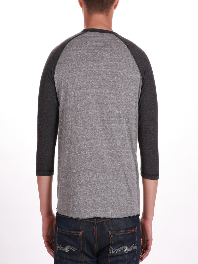 KUWALLA TEE HENLEY 2-PACK IN SALT AND PEPPER  - 4