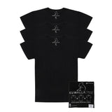 KUWALLA TEE V-NECK T-SHIRT 3-PACK IN BLACK  - 6