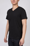 KUWALLA TEE V-NECK T-SHIRT 3-PACK IN BLACK  - 3
