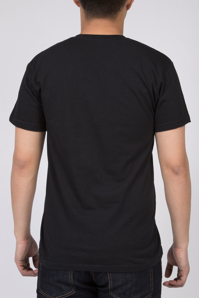 KUWALLA TEE V-NECK T-SHIRT 3-PACK IN BLACK  - 4