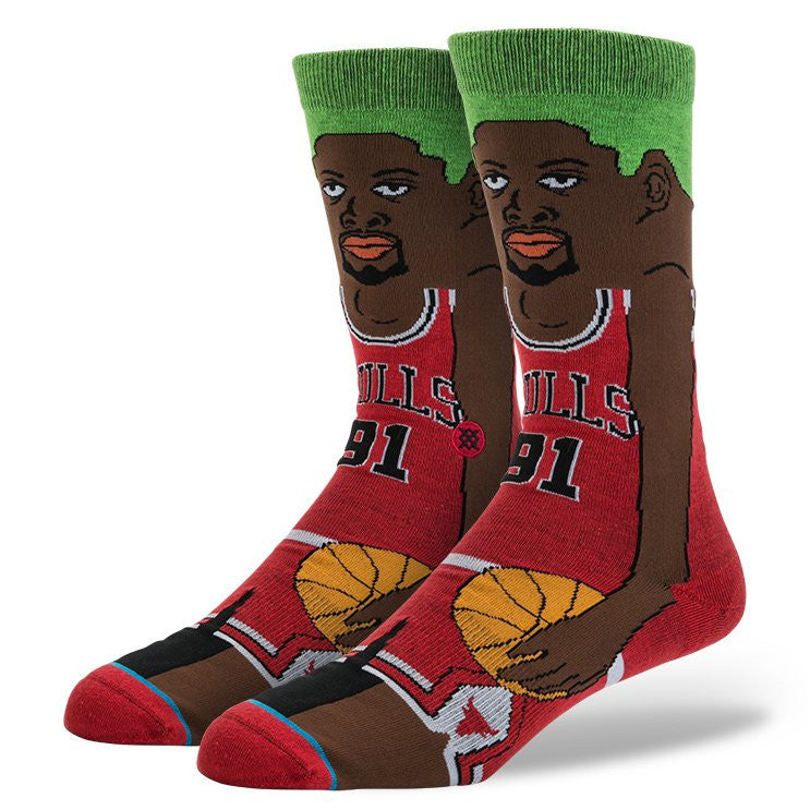 INSTANCE NBA LEGENDS SOCKS 'RODMAN-CARTOON'