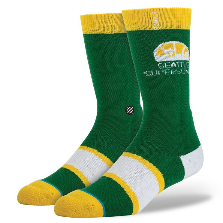 INSTANCE NBA LEGENDS SOCKS SEATTLE SUPER SONICS