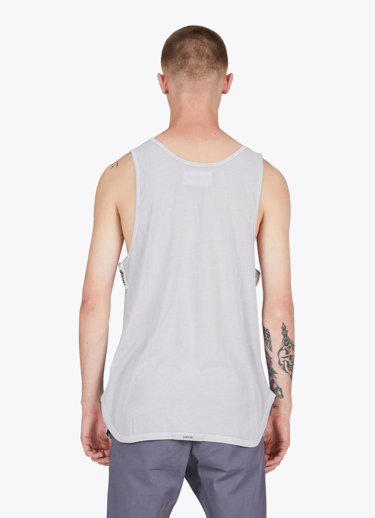 Zanerobe Rugger Tank Top in Pigment Stone