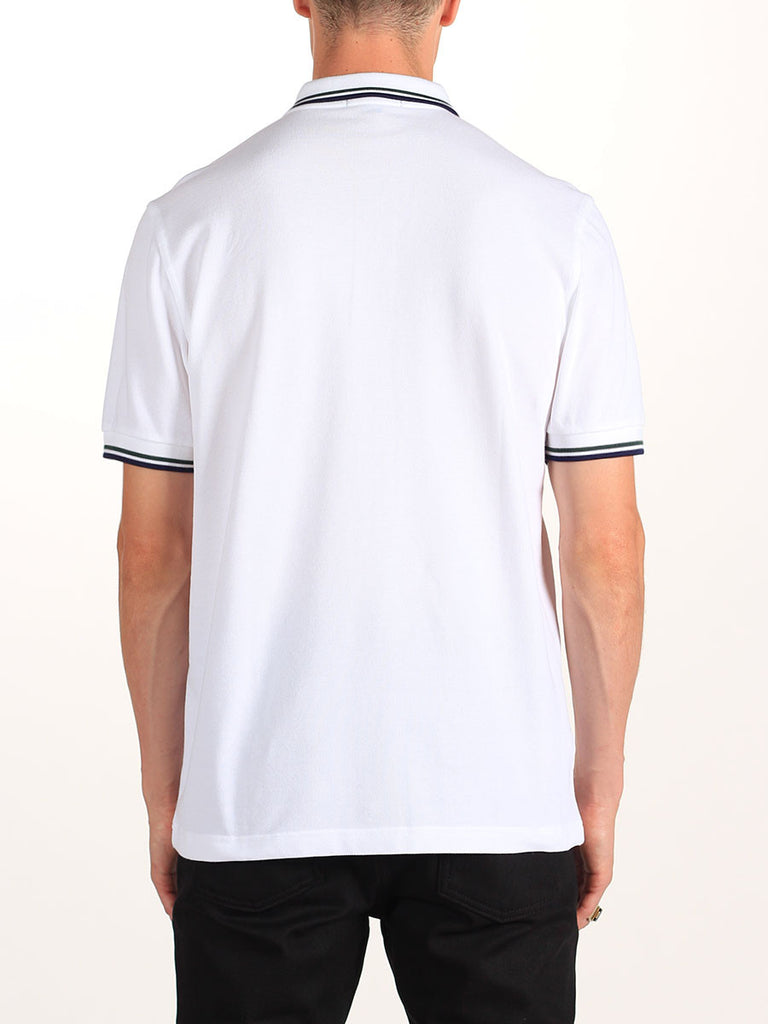 Fred Perry Twin Tipped Shirt in White
