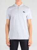 Lacoste Live Stretch Ultra Slim Fit Pique Polo in Heathered Grey