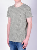 Nudie Jeans Graphic Allover Organic Cotton T-Shirt