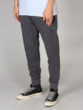 Scotch & Soda Biker Sweatpants in Moon Rock Melange