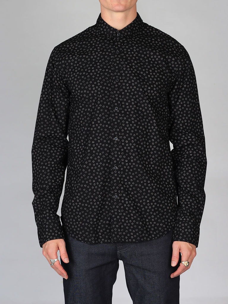 Scotch & Soda All-Over Printed Shirt in Black