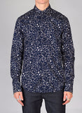 Scotch & Soda All-Over Printed Shirt in Navy