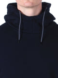 Scotch & Soda Hoodie with Side Zipper in Black  - 4