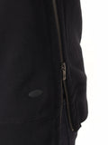 Scotch & Soda Hoodie with Side Zipper in Black  - 5