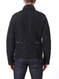 Scotch & Soda Quilted Field Jacket in Black  - 2