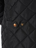 Scotch & Soda Quilted Field Jacket in Black  - 5